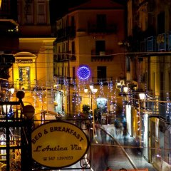 Отель Antica Via B&B Агридженто гостиничный бар