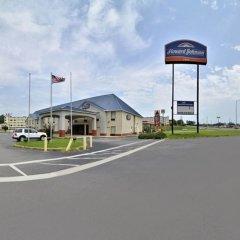 Отель Howard Johnson by Wyndham University of Alabama Tuscaloosa парковка