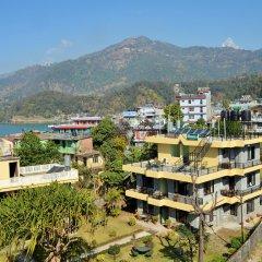 Отель Mandala Непал, Покхара - отзывы, цены и фото номеров - забронировать отель Mandala онлайн приотельная территория