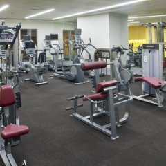 Отель Crowne Plaza Abu Dhabi Yas Island фитнесс-зал фото 2