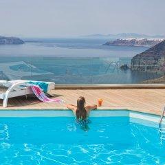 Отель Athina Luxury Suites Греция, Остров Санторини - отзывы, цены и фото номеров - забронировать отель Athina Luxury Suites онлайн бассейн фото 2