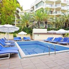 Sol Beach Hotel Турция, Мармарис - отзывы, цены и фото номеров - забронировать отель Sol Beach Hotel - All Inclusive - Adults Only онлайн бассейн