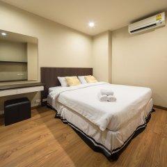 Отель The Tepp Serviced Apartment Таиланд, Бангкок - отзывы, цены и фото номеров - забронировать отель The Tepp Serviced Apartment онлайн комната для гостей