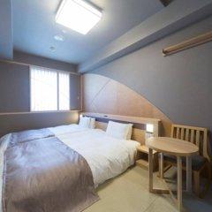 Отель Dormy Inn Tokyo-Hatchobori Natural Hot Spring комната для гостей фото 4