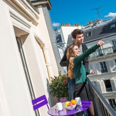 Отель Villa Boheme Париж балкон