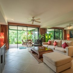 Апартаменты Aspasia Kata Luxury Resort Apartment пляж Ката Яй комната для гостей фото 4