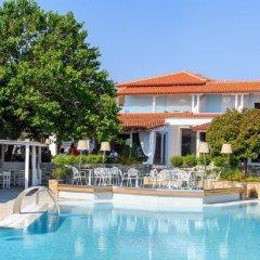 Отель Antigoni Beach Resort бассейн фото 2