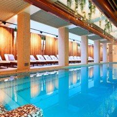 Отель Lucky Bansko Aparthotel SPA & Relax Болгария, Банско - отзывы, цены и фото номеров - забронировать отель Lucky Bansko Aparthotel SPA & Relax онлайн бассейн
