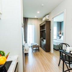 Отель Dlux Condominium Таиланд, Бухта Чалонг - отзывы, цены и фото номеров - забронировать отель Dlux Condominium онлайн в номере фото 2