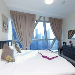 Отель Kennedy Towers - Park Towers Дубай комната для гостей фото 5