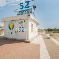 Hotel Villa Franco Римини пляж фото 2