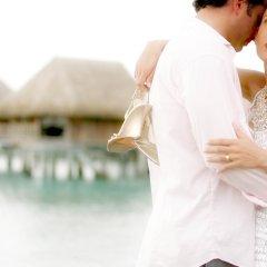 Отель Sofitel Moorea la Ora Beach Resort Французская Полинезия, Папеэте - 1 отзыв об отеле, цены и фото номеров - забронировать отель Sofitel Moorea la Ora Beach Resort онлайн бассейн фото 2