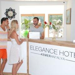 Elegance Hotel Kemer интерьер отеля