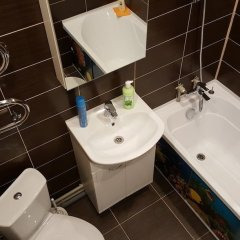 Гостиница LOFT STUDIO Nosovihinskoe 25-5 в Реутове отзывы, цены и фото номеров - забронировать гостиницу LOFT STUDIO Nosovihinskoe 25-5 онлайн Реутов ванная
