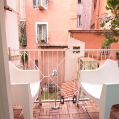 Отель Design&Art Pie Италия, Рим - отзывы, цены и фото номеров - забронировать отель Design&Art Pie онлайн балкон
