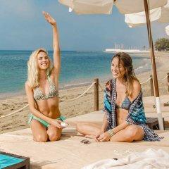 Amàre Beach Hotel Marbella пляж фото 2