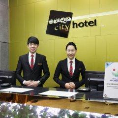 Coop City Hotel Oryu Station интерьер отеля