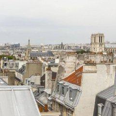 Отель Le Lapin Blanc Париж балкон