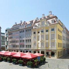 Отель Amedia Plaza Dresden Германия, Дрезден - 2 отзыва об отеле, цены и фото номеров - забронировать отель Amedia Plaza Dresden онлайн вид на фасад