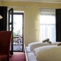 Отель Elbterrasse Wachwitz Германия, Дрезден - отзывы, цены и фото номеров - забронировать отель Elbterrasse Wachwitz онлайн комната для гостей фото 2