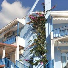 Отель Aiolis Studios Ситония вид на фасад