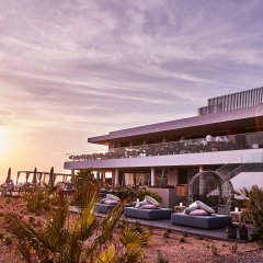 Отель 7Pines Resort Ibiza вид на фасад