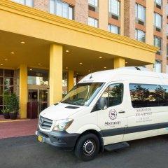Отель Sheraton JFK Airport Hotel США, Нью-Йорк - 1 отзыв об отеле, цены и фото номеров - забронировать отель Sheraton JFK Airport Hotel онлайн городской автобус