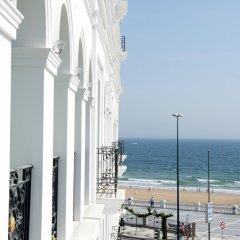 Отель Gran Hotel Sardinero Испания, Сантандер - отзывы, цены и фото номеров - забронировать отель Gran Hotel Sardinero онлайн пляж фото 2
