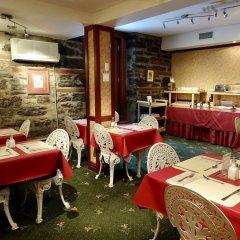 Отель Auberge Le jardin dAntoine Канада, Монреаль - отзывы, цены и фото номеров - забронировать отель Auberge Le jardin dAntoine онлайн питание