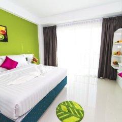 Отель The Frutta Boutique Patong Beach 3* Номер Делюкс с различными типами кроватей фото 2