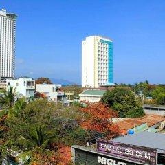 Отель Hanhcafe Hotel Вьетнам, Нячанг - отзывы, цены и фото номеров - забронировать отель Hanhcafe Hotel онлайн балкон фото 2