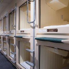 Отель Capsule and Sauna New Century Япония, Токио - отзывы, цены и фото номеров - забронировать отель Capsule and Sauna New Century онлайн сейф в номере