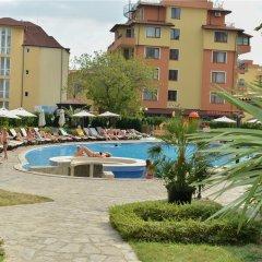 Отель OLYMP Apartcomplex Свети Влас бассейн