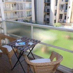 Отель Nice Booking - Royal Luxembourg Piscine Ницца балкон