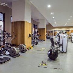 Отель Amwaj Rotana, Jumeirah Beach - Dubai фитнесс-зал фото 3
