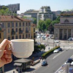 Отель Worldhotel Cristoforo Colombo Милан балкон