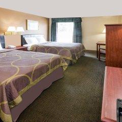 Отель Super 8 by Wyndham Columbus США, Колумбус - отзывы, цены и фото номеров - забронировать отель Super 8 by Wyndham Columbus онлайн комната для гостей