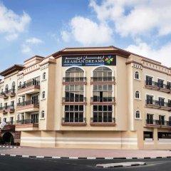 Отель Arabian Dreams Deluxe Hotel Apartments ОАЭ, Дубай - отзывы, цены и фото номеров - забронировать отель Arabian Dreams Deluxe Hotel Apartments онлайн вид на фасад