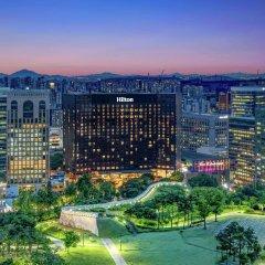 Отель Millennium Hilton Seoul Южная Корея, Сеул - 1 отзыв об отеле, цены и фото номеров - забронировать отель Millennium Hilton Seoul онлайн фото 7