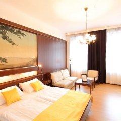 Отель CheckVienna Edelhof Apartments Австрия, Вена - 1 отзыв об отеле, цены и фото номеров - забронировать отель CheckVienna Edelhof Apartments онлайн комната для гостей фото 8