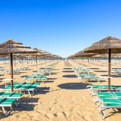 Отель Villa Del Bagnino Римини пляж фото 2
