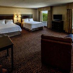 Отель Hampton Inn & Suites Staten Island США, Нью-Йорк - отзывы, цены и фото номеров - забронировать отель Hampton Inn & Suites Staten Island онлайн комната для гостей фото 5