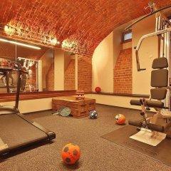 Отель Amber фитнесс-зал фото 3
