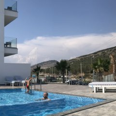 Отель Bianco Hotel Албания, Ксамил - отзывы, цены и фото номеров - забронировать отель Bianco Hotel онлайн бассейн