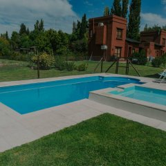 Отель Cabañas La Cosecha Сан-Рафаэль бассейн фото 3
