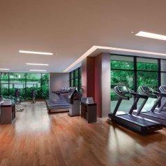 Отель Grand Hyatt Dubai Дубай фитнесс-зал