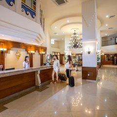 Aquamare Beach Hotel & Spa интерьер отеля фото 2