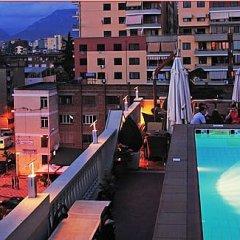 Отель Mondial Hotel Албания, Тирана - отзывы, цены и фото номеров - забронировать отель Mondial Hotel онлайн бассейн фото 2