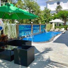 Отель Sun & Sea Hotel Вьетнам, Нячанг - отзывы, цены и фото номеров - забронировать отель Sun & Sea Hotel онлайн бассейн фото 2
