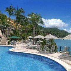 Отель Camino Real Acapulco Diamante бассейн фото 3